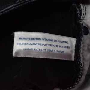 Tommy Hilfiger Jeans - Tommy Hilfiger Women 6 Black Skinny Jeans Low Rise